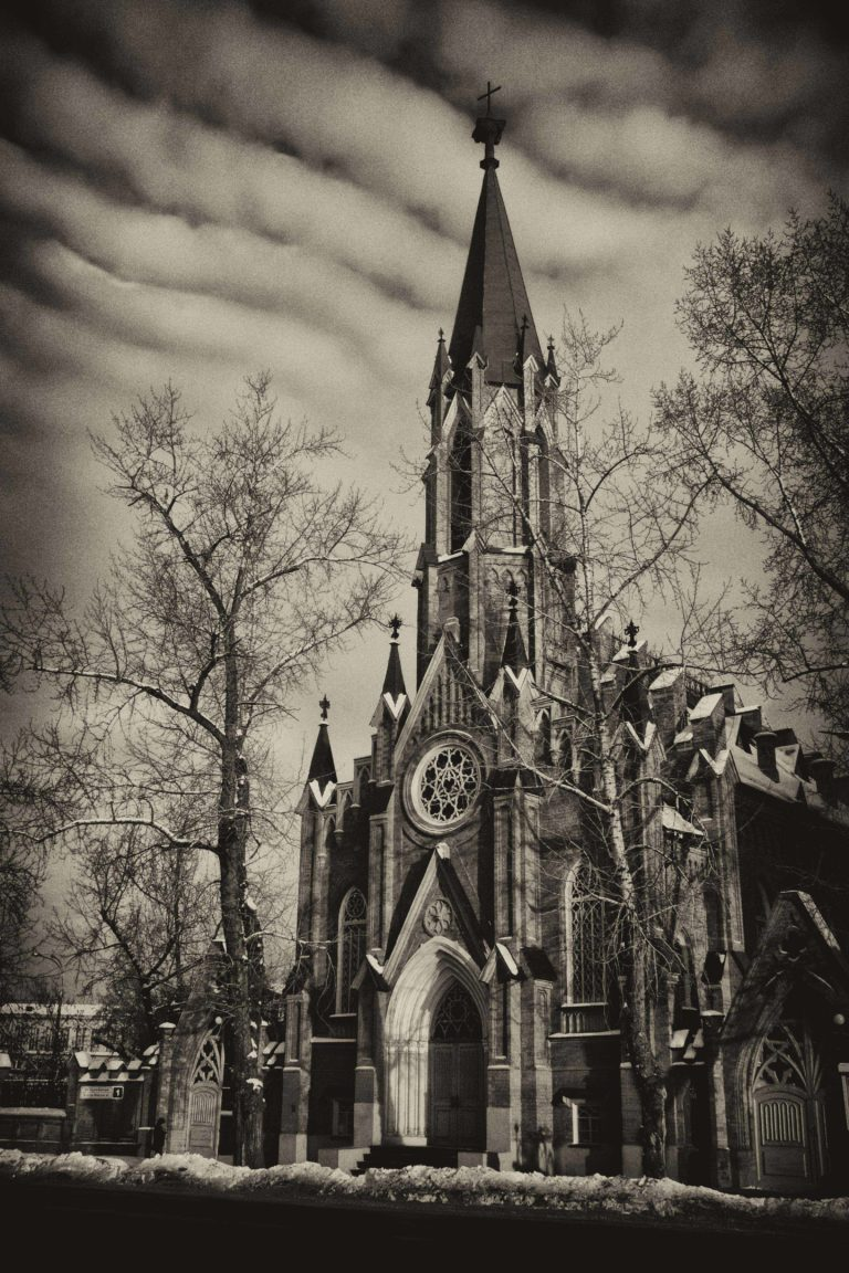 Европейская готика в Иркутске (Польский костел)